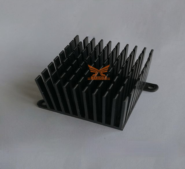 Stamping cooling fin-